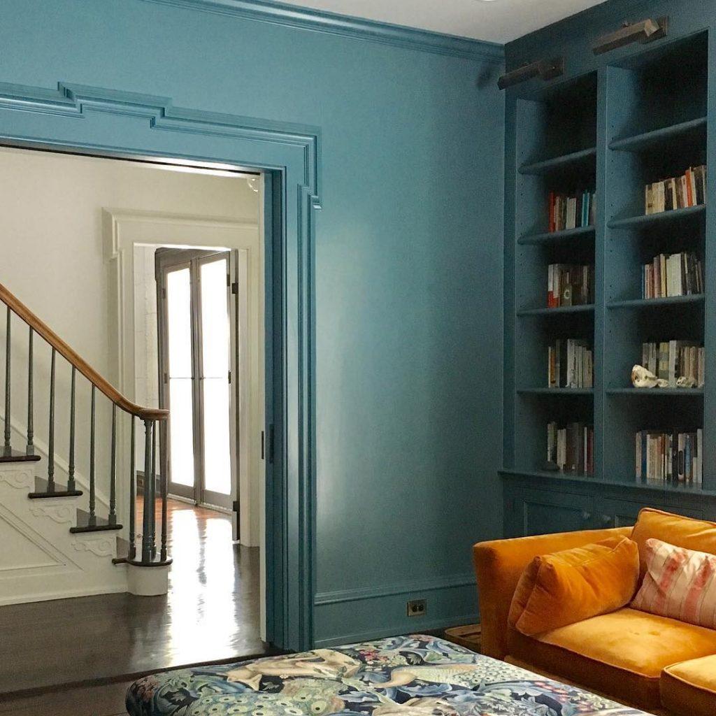 Benjamin Moore Bella Blue Interiors By Color