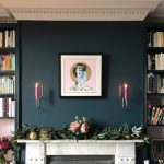 Farrow Ball Hague Blue Living Room Interiors By Color