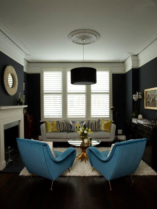 Farrow Amp Ball Hague Blue Paint Color Schemes Interiors