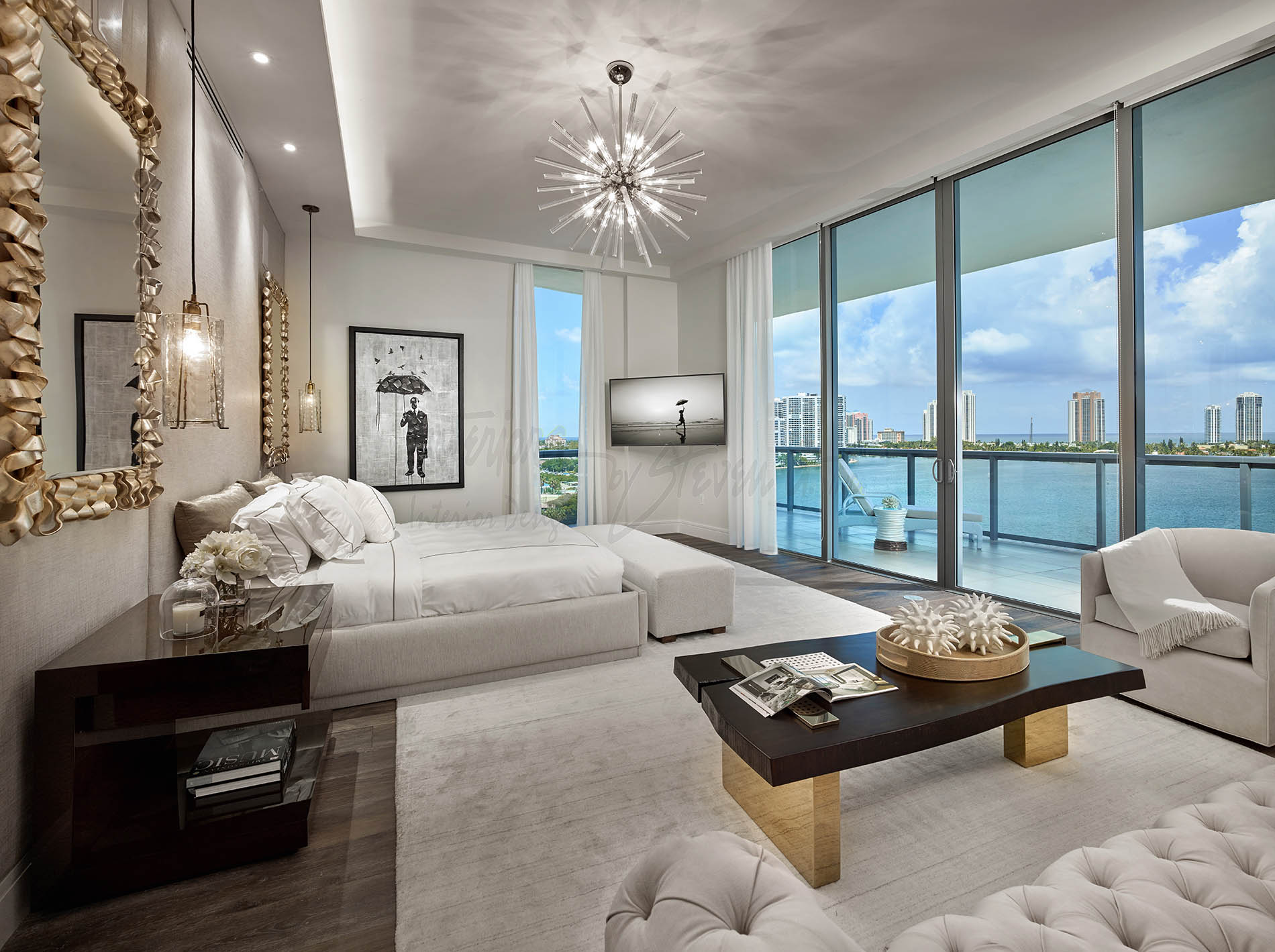 Echo Aventura Contemporary Interiors By Steven G
