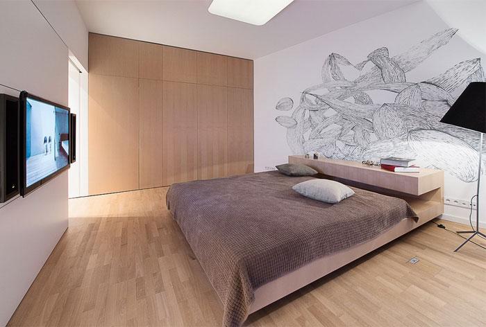 Elegant Interior Of A Duplex Apartment Interiorzine