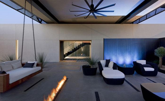 Spectacular Luxury Desert House Interiorzine