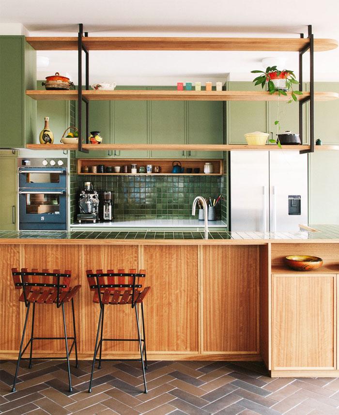 65 adorable mid century modern kitchen
