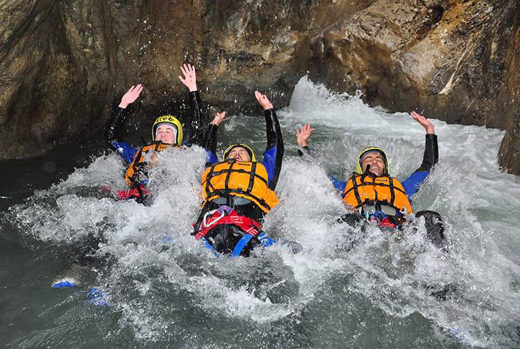 Canyoning interlaken activities