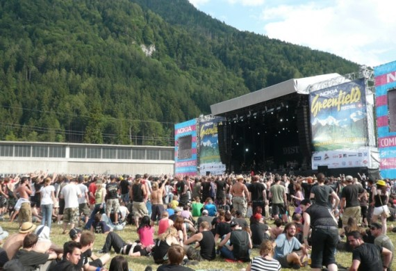 green field festival interlaken