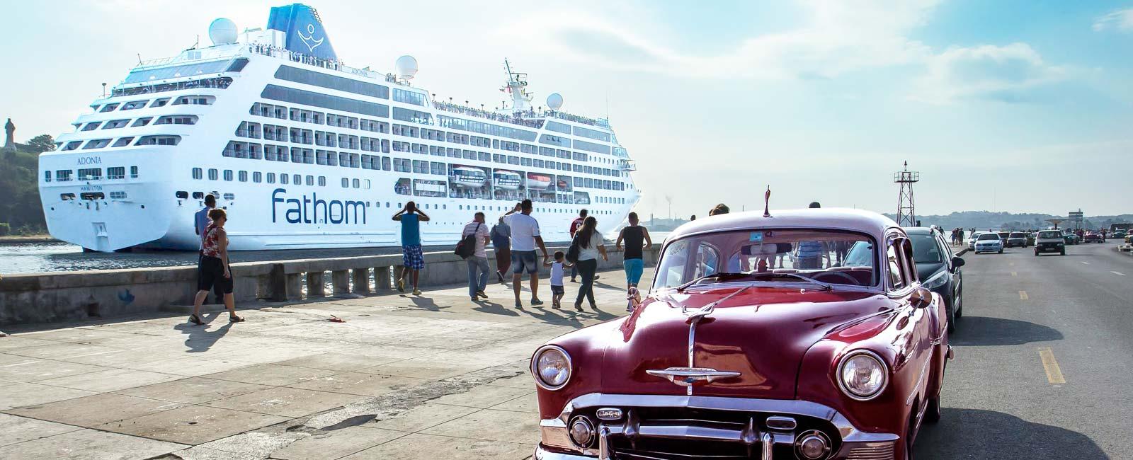 Image result for Fathom cruise cuba