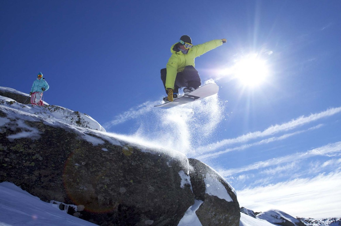 SnowboardPerisherAustralie