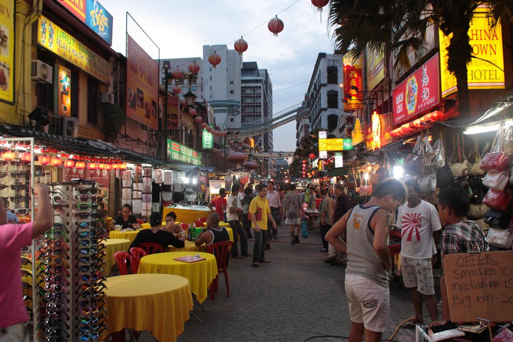 KualaLumpurChinatownStreetRueNuitNight