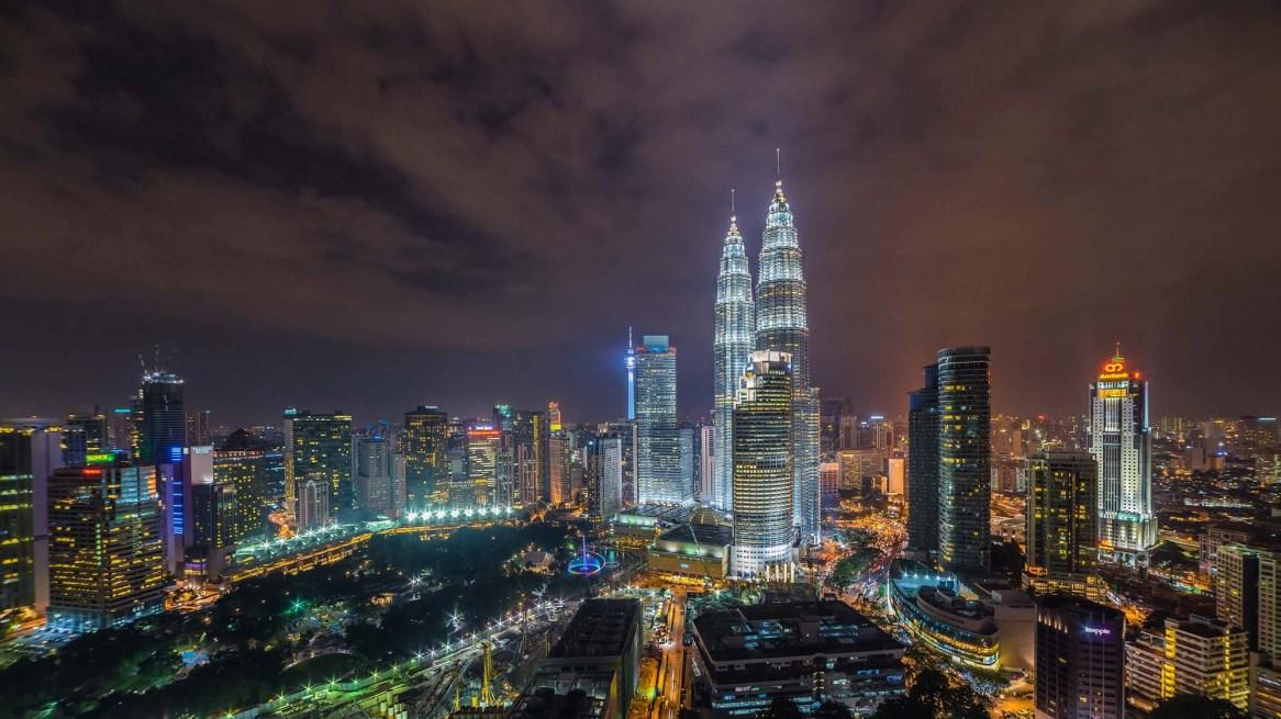 KualaLumpurKlccToursTowersPetronasNuitNight