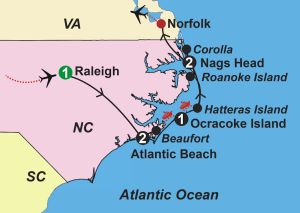 North Carolina Guided Vacation