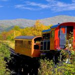 New England Fall Foliage by Rail