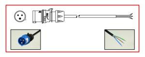 IEC 60309 (309) (16A 230250V)