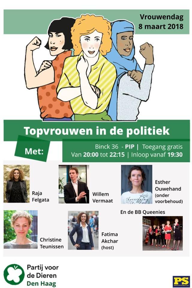 partij-voor-de-dieren-internationale-vrouwendag-2018