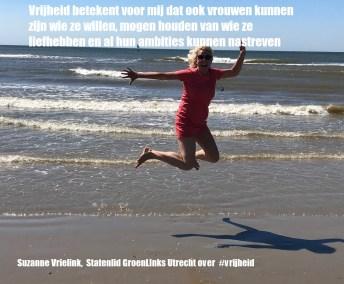 Suzanne Vrielink Statenlid GroenLinks Utrecht Vrijheid internationale vrouwendag 8 maart 2020