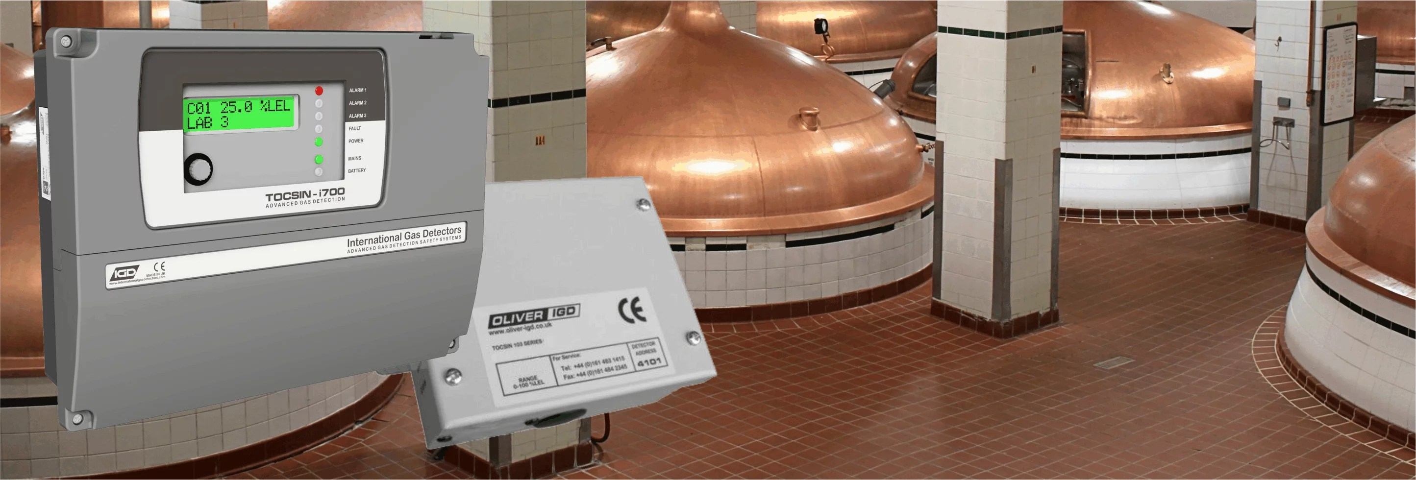 Gas Detection in Breweries Banner