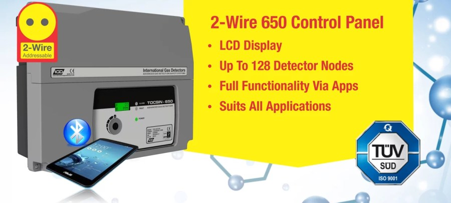 2 Wire 650 gas detection system