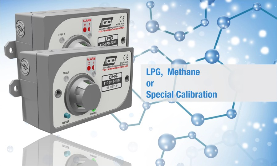 TOC-10 Domestic Gas Detector Options