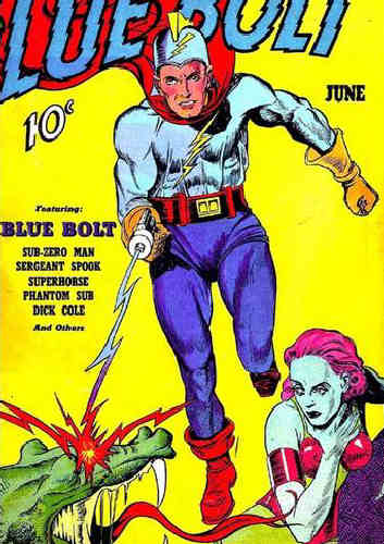 Image result for golden age blue bolt