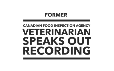 Retired CFIA Veterinarian Speaks Out Against Horse Slaughter