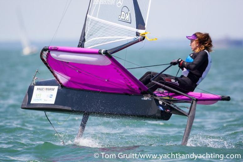Annalise Murphy 2014 Ladies World Champion