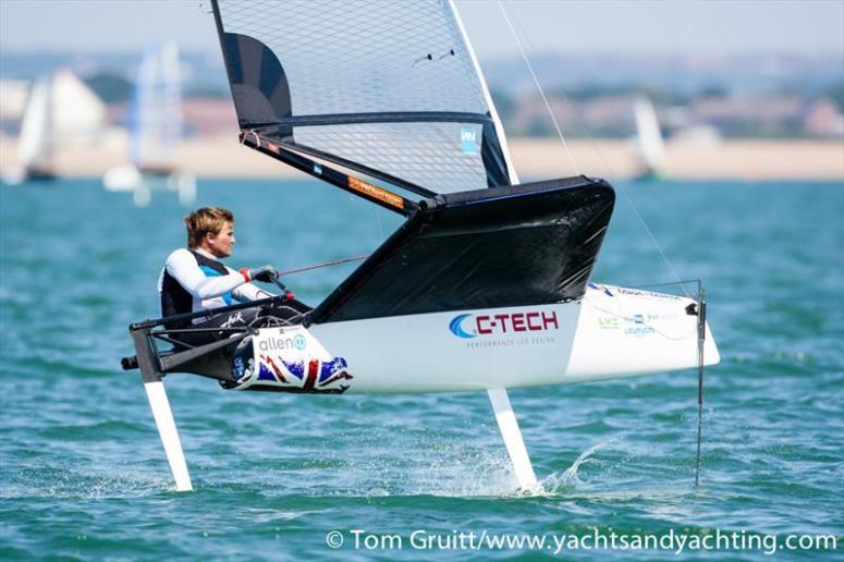 Chris Rashley 4 time European Champion