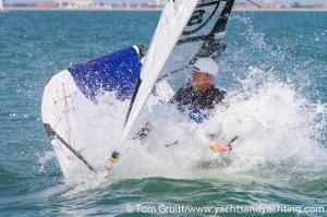 Paul Goodison, NOT a Stokes Bay Moth sailor