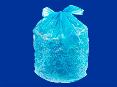 wholesale recycling blue plastic bags