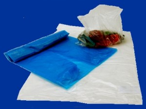 wholesale recycling clear blue plastic bags
