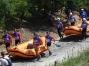 Running rafts in DR
