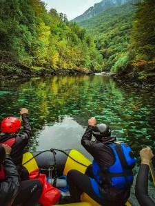 Weekend for rivers - rafting