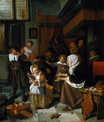 Jan Steen Feast Saint Nicolas Rijksmuseum