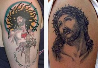Modern Jesus Tattoo