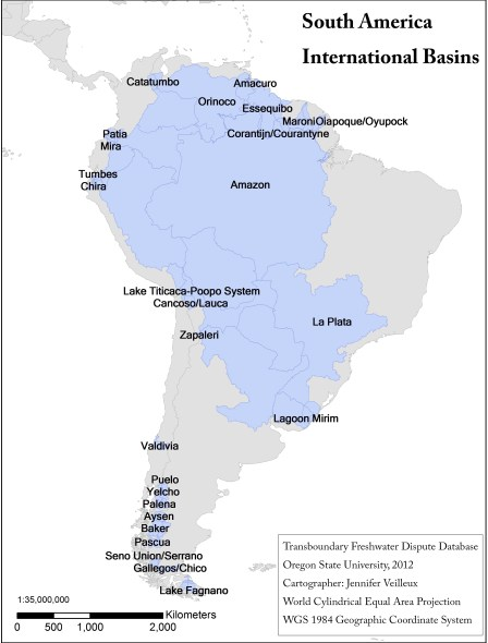 International Basins of South America
