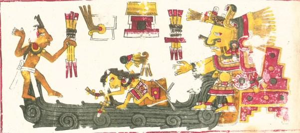 Chalchiuhtlicue - Aztec goddess of water, rivers, seas, streams, and storms