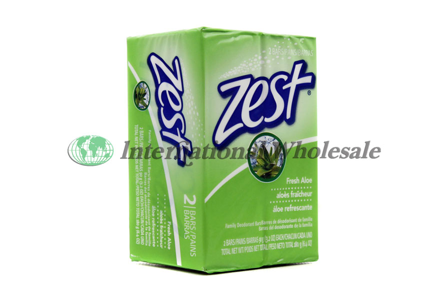 ZEST BAR SOAP FRESH ALOE 242PK 32 OZ 64z Total