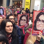 Thousands of women across Turkey protest the rape and murder of a young woman