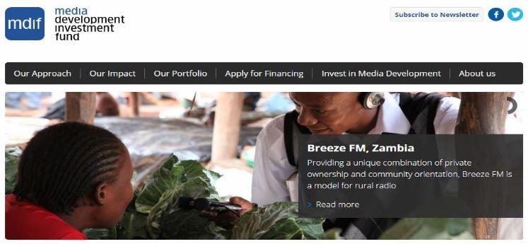 Media Development Loan Fund (MDIF)