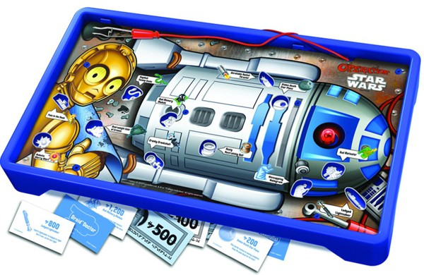 r2d2 operation board Star Wars Operation lets you get to the bottom of the R2 D2 booster rocket debate