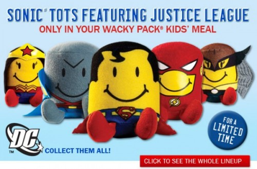main e1330075455519 500x330 Sonic Drive In Justice League Tots
