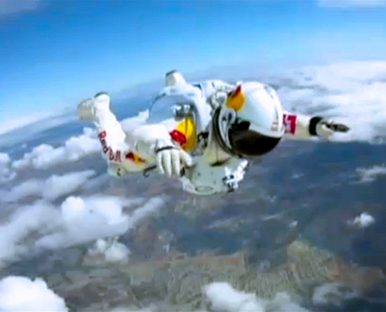 Stuntman plans dive from outer space to break sound barrier