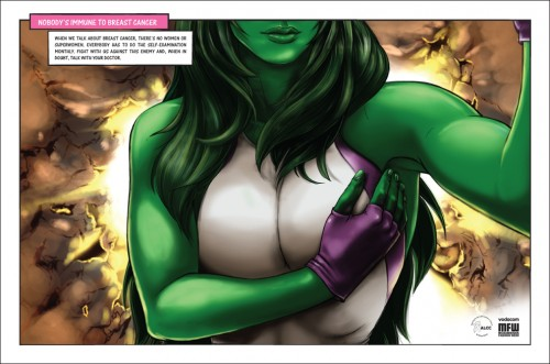 enhanced buzz wide 25970 1349812621 3 500x331 Perfect Ads For Comic Con & Breast Cancer Awareness Month