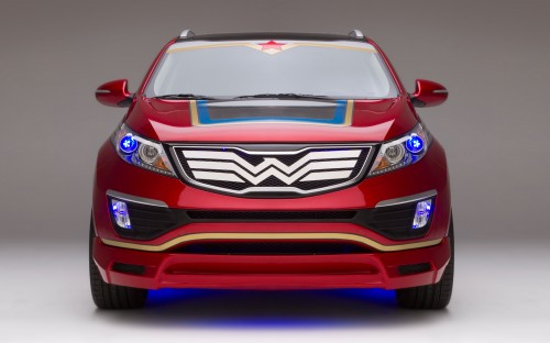 Kia's Wonder Woman Car Is Not Invisible