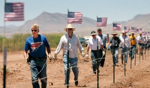 minutemen1 500x295 Border troops bracing for possible clashes with armed crackpot militias of U.S. citizens, not Migrant Caravan