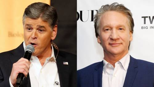 Keep your big mouth shut: Sean Hannity rips Bill Maher for remarks on David Kochs death