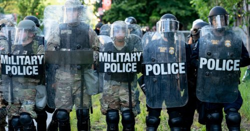 Former Commanders Fault Trump's Use of Troops Against Protesters
