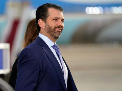 Don Trump Jr hits out at 'Democrat governor' of Texas... who is actually Republican