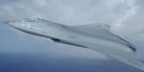 The Navy Reveals Plans for Its New Fighter Jet