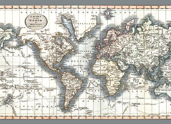 carte du monde en tapis 195 x 135 x 0 5 cm gris beige