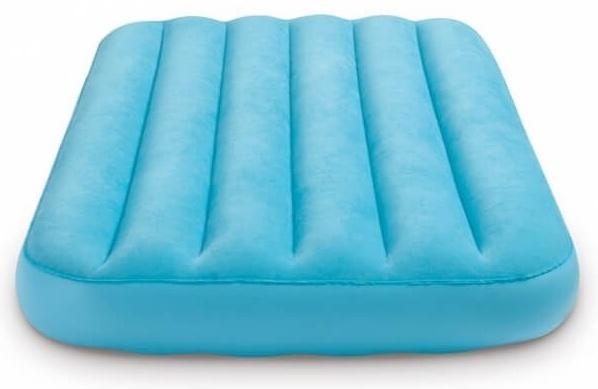 matelas gonflable pour enfants cozy bleu 157 x 88 x 18 cm