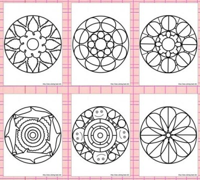 3268-mandala-coloring-pages-מנדלה-דפי-צביעה